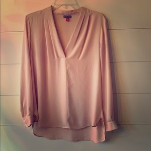 Vince Camuto Pink Blouse
